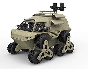 Concept truck for zombie apocalypses 3D model