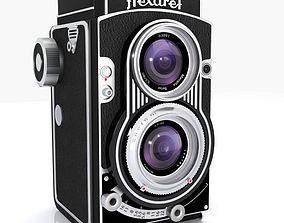 3D model Vintage Flexaret Camera