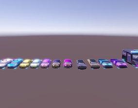 Cars all 3D asset