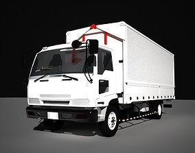 3D asset cargo cars - free