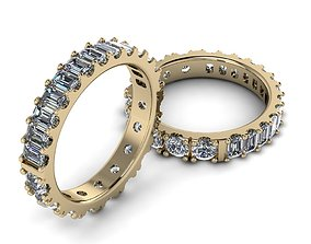 Eternity Jewelry Ring 005 3D printable model