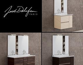 3D model washbasin jacob delafon SOPRANO