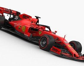 3D winnow F1 Scuderia Ferrari SF90 2019