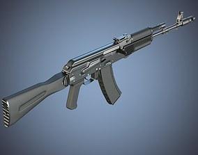 3D Kalashnikov AK-74M assault rifle
