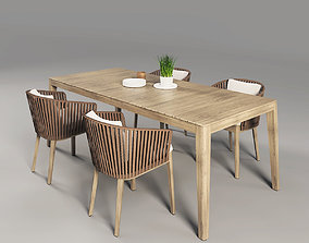 3D model Mood Outdoor Table