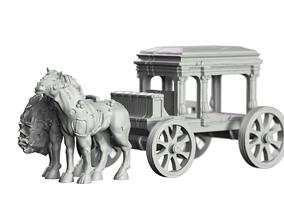 3D print model Hearse