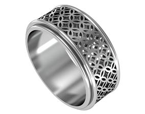 geometric classic ring 3D print model