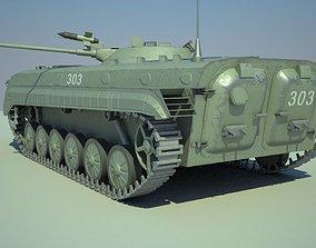 BMP-1 3D model realtime