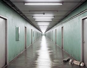 Infinite Corridor 3D asset