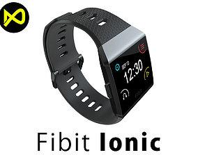 3D Fitbit Ionic Charcoal