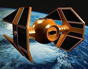 3D Spaceship Fighter galaxy