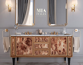 MiaItalia Petit 06 Bathroom furniture 3D model