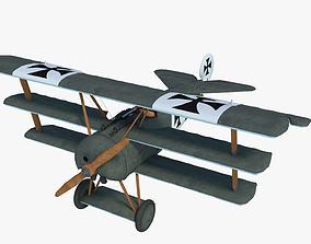 Fokker Dr Dreidecker 1 Triplane 3D model
