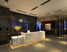 Office meeting room reception hall 07 3D