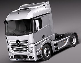 Mercedes Actros Truck 2014 3D