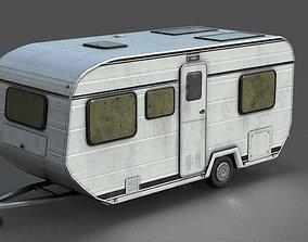 CARAVAN 3D model realtime
