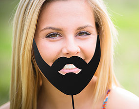 3D print model Beard stick