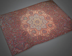 Old Red Rug Antiques - PBR Game Ready 3D model