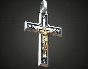 3D print model Cross Christian Jesus crucifixion screws