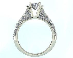 3D printable model Diamond ring for queen