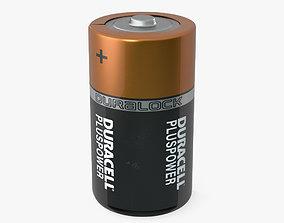 Duracell D Battery 3D model