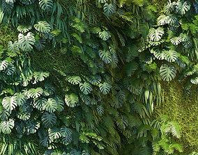 grass 3D Vertical gardening