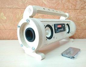 Small BoomBox 100mm dia 3D