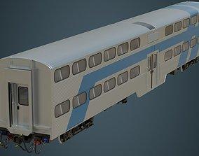 railcar 3D asset Railcar 1A