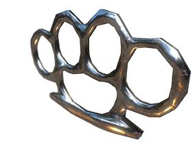 3D model Medieval Brass Knuckle