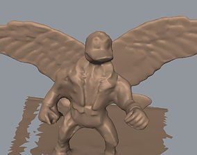 Winged Duck 3D