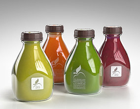 3D model Living Green Juices