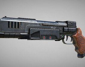 223 Pistol Blaster PBR 3D model
