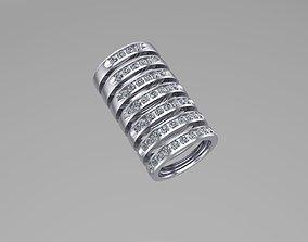 Anniversary Bands rings 3D printable model