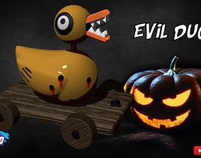 Evil Duck - Nightmare Before Christmas 3D printable model