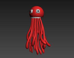 3D Mr Squid