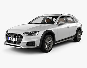 Audi A4 Allroad with HQ interior 2019 3D
