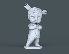 3D printable model Boss Baby-girl