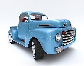 f100 Ford F-1 3D model