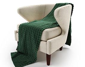 3D model Sophia Accent Chair