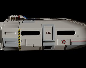 Small Transport Space Shuttle 3D