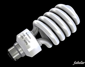 3D model Energy saving bulb 2