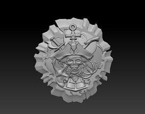 Pirate head 3D printable model