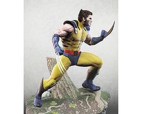 Wolverine stl 3D printable model
