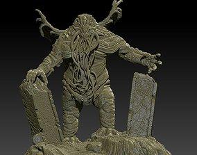 3D print model statue Cthulhu
