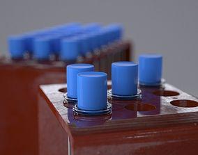 lab Test Tubes 3D model