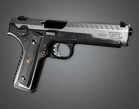 FPS Modern Handgun - MHG - Osprey MK1 - PBR Game 3D asset