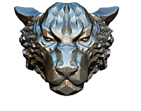 Alpha Male Tiger Cat WildCat King 3D printable model