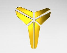 3D asset Black Mamba Logo v1 005
