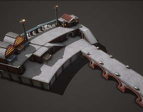 3D asset Ancient Port