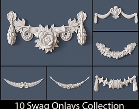 3D 10 Swag Onlays Collection